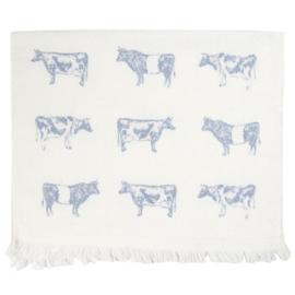 Landelijk gastendoekje met koeien
