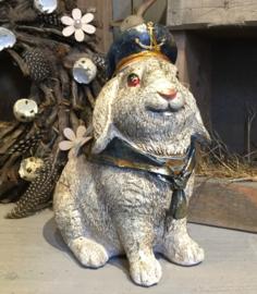 Decoratie konijn zittend