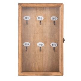 Sleutelkastje hout 24*7*38
