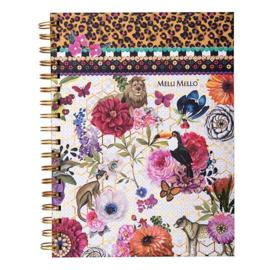 Melli Mello notitieboek met ring