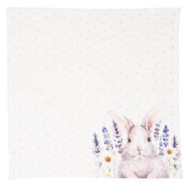 Stoffen servetten Lavender Fields Easter (6)