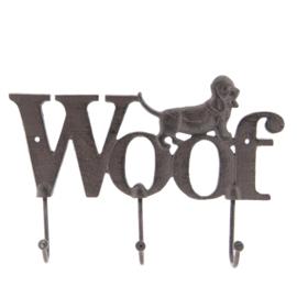 Kapstok hond Woof 26*4*18