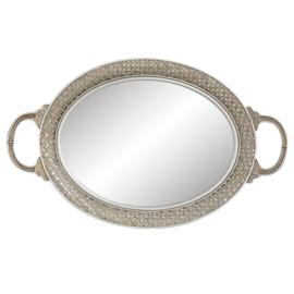 Dienblad met spiegel 39*24*4