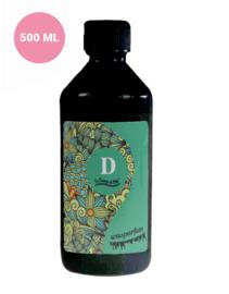 Wasparfum D met Green Tea en Jasmine geur 500 ml