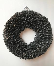 Krans Bakuli Black wash 40 cm