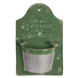 Planthouder Garden Happiness groen