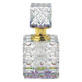 Parfumfles glas vierkant