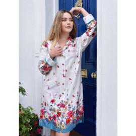 Dames nachthemd Poppy Print S/M