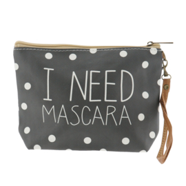 Make-up tas I Need Mascara 22*15 M