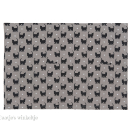 Stoffen placemats (6) Cat Lovers