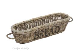 Rieten stokbroodmand Bread / Pain 58*14
