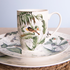 Servies Tropical Bird