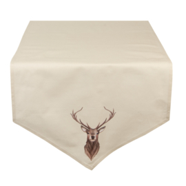 Tafelloper Kerst Cosy Lodge 50*160
