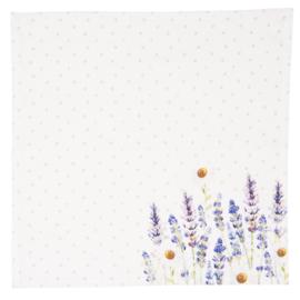 Stoffen servetten Lavender Fields (6)