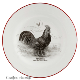 Dinerbord country kip 26 cm
