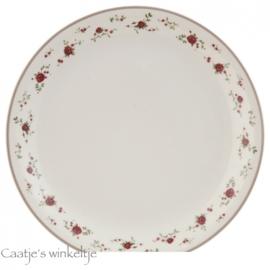 Servies La petite rose diner bord
