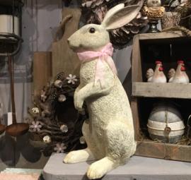 Decoratie konijn zittend 48*21*16