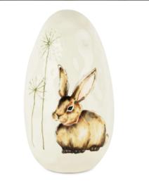 Ei met Bunny keramiek 14*24