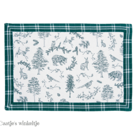 Placemats Wild Forest (6)  48*33