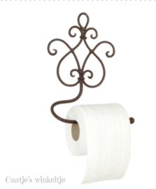 Toiletpapierhouder bruin