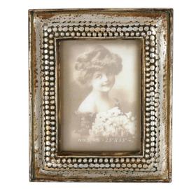 Fotolijstje antiek zilver 7*9