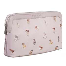 Large cosmetic bag A dog's life