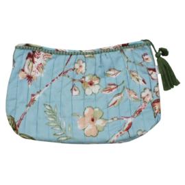 Wash bag / toilettas Blue Blossom