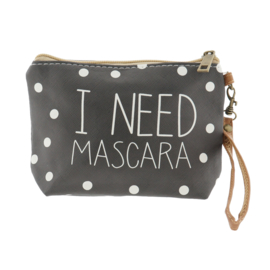 Make-up tas I Need Mascara 18*13 S