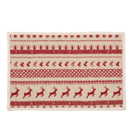 Stoffen placemats Kerst (6)