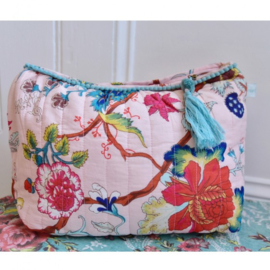 Wash bag / toilettas Pink Floral