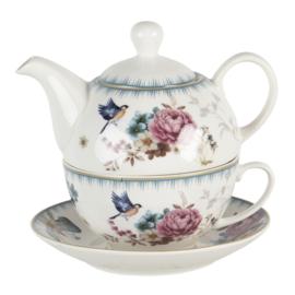 Tea for One Pioen Roos