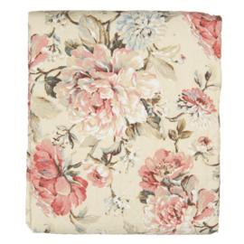 Clayre & Eef bedsprei Multi Flowers 140*220