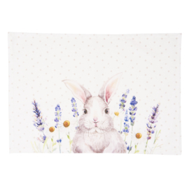 Stoffen placemats Lavender Fields Easter (6)