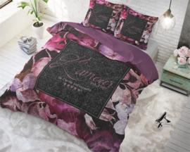 Dekbedovertrek Vintage Amour Black 140*220