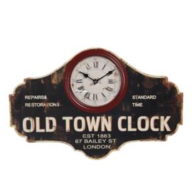 Wandklok Old Town Clock