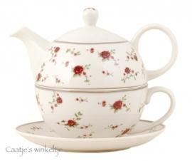 Servies La petite rose Tea for One