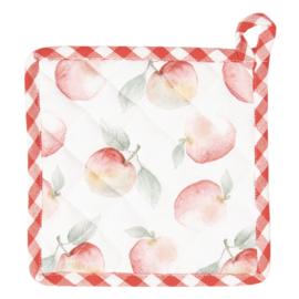 Pannenlap met appels
