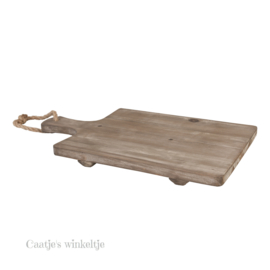 Houten hapjes tapas decoratie plank 29*47