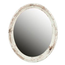 Brocante spiegel ovaal 54*4*66