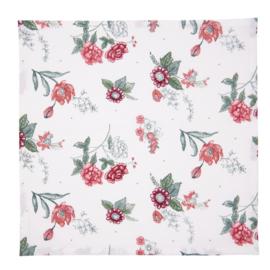 Stoffen servetten (6) bloemen 40*40