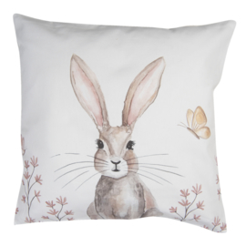 Kussenhoes Rustic Easter Bunny
