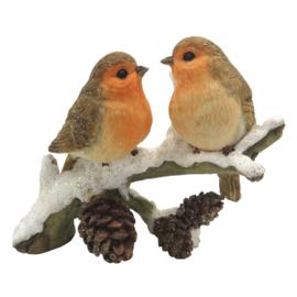 Decoratie vogels op tak
