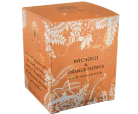 Geurkaars Patchouli  & Orange Flower