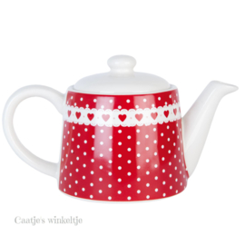 Dots en Hearts Tea for one