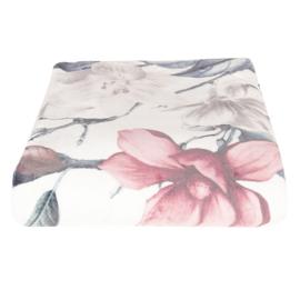 Plaid met bloemen 130*180