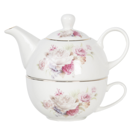 Tea for one set rozen 0.4L