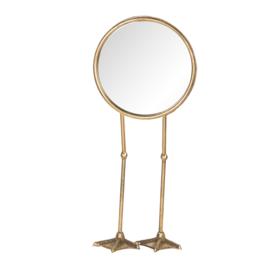 Staande spiegel op eenden voeten 20*47