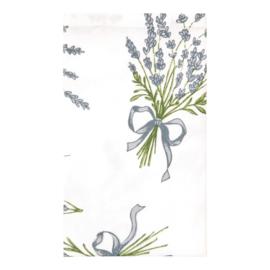 Stoffen servetten set van 6 Lavendel