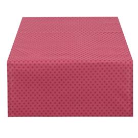 Tafelloper roze/rood 50*140