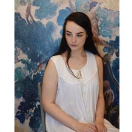 Romantisch nachthemd Nora wit one size